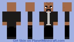 Steve Harvey Minecraft Skin