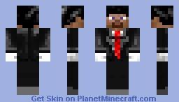 Classy Steve Minecraft Skin