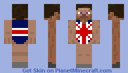 Steve 2012 Olympics Minecraft Skin