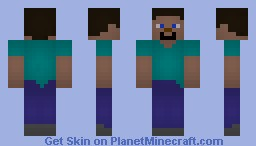 Steve (Shading Test Again...) Minecraft Skin