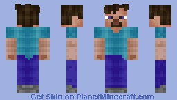 Steve, The One, The Only. Minecraft