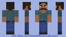 Steve V3 Minecraft Skin