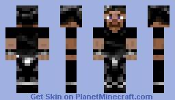 Steve Warrior Minecraft Skin