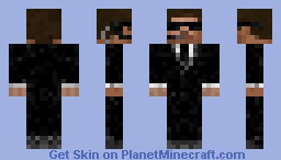 Steve in a suit Minecraft Skin