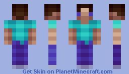 Steve(?) - low res Minecraft Skin
