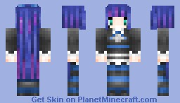 Anarchy Stocking from Panty and Stocking with Garterbelt Minecraft Skin
