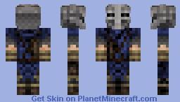 Stormcloak - Skyrim Minecraft Skin