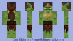 Female Orc #4  By Alpha_Poster Minecraft Skin