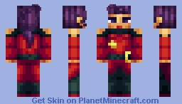 Street Fighter - Rose Minecraft Skin
