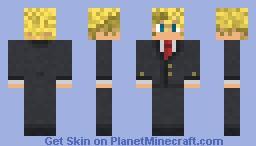 Suit Roxas Minecraft Skin