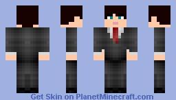 Suit Minecraft Skin
