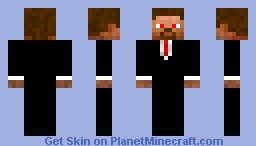 Suited Skin V2 Minecraft Skin