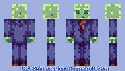 Suited Slime (Lantosyt's skin contest) Minecraft Skin