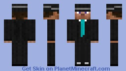 A Respectably-Suited Businessman (With a Fedora) Minecraft