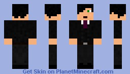 Suited man Minecraft Skin