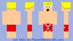 Summer Blond Minecraft Skin