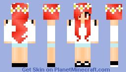 ♪Pika♪Summer Fun Minecraft Skin