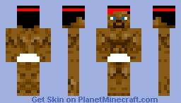 Sumo Wrestler Minecraft Skin