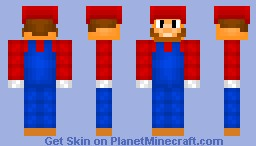 Super Mario [25 Subscribers] Minecraft Skin