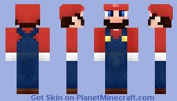 Super Mario (Brawl!) Minecraft Skin