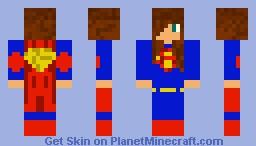 Supergirl Minecraft Skin