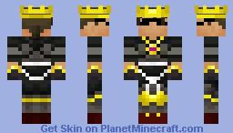 Sky The King Minecraft Skin