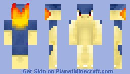 Typhlosion Pokemon Skins Minecraft Skin - Skin para minecraft pe de pokemon