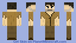 The Survivor Minecraft Skin