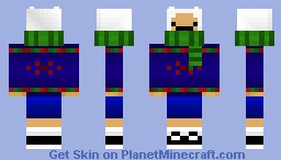Sweater Finn Minecraft Skin
