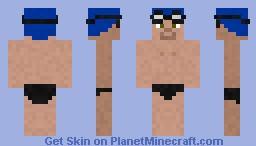 Swimmer Minecraft Skin