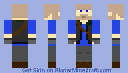 TF2 Blu Heavy Minecraft Skin