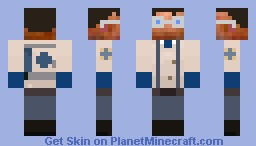 Team Fortress 2 - Medic Minecraft Skin