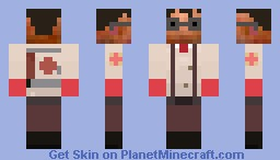 [SKIN] Red-Medic from TF2 Minecraft Skin