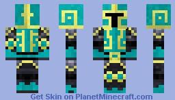 The Isles of Esmer: Warrior Skin Minecraft Skin