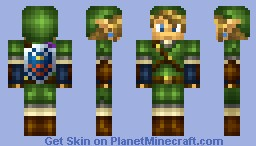 -One Year Anniversary: Link- Minecraft Skin