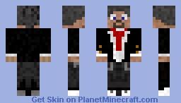 Classy Man in Tuxedo Minecraft Skin