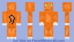 Orange Tabby Cat Minecraft Skin