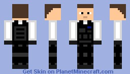 Tactical Skin White - By DatAsianSG Minecraft