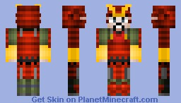 Takeda Harunobu ( Takeda Shingen) Minecraft Skin