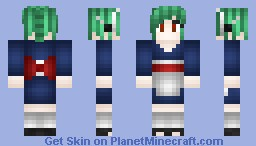 Tama The Android Maid Minecraft Skin