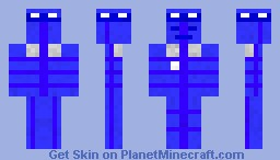 TARDIS- Doctor Who (My First Skin Ever) Minecraft