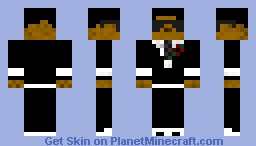 A Man in a Suit Minecraft Skin