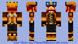Hector - the Crazy Steampunk Scientist (villain) [contest skin][3rd place] Minecraft Skin