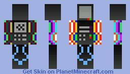 Techno (for contest) Minecraft Skin