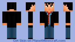 Ted Mosby( How i met your mother) Minecraft Skin