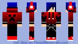 Teenager (In A Hoodie With Headphones) Minecraft Skin