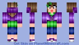 ~My Teen Skin with hoodie (shading style # 1)  - Pinkcham~ Minecraft Skin