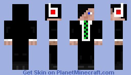 New Teen Businessman Skin