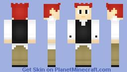 A Teenage robot skin Minecraft Skin