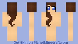 girl template #1 Minecraft Skin